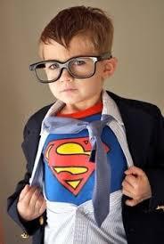 5 Costumes Halloween Faschingskostüme Günstig Baby Superman Blau Rot Kappe Fasching