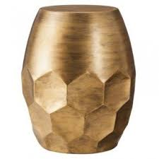 drum accent table foter