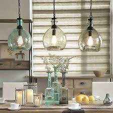 Clear Glass Pendant Lights For Kitchen Island Off To College Casamotion Wavy Vintage Industrial Hand Blown