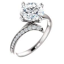 avery engagement ring accented engagement ring avery my moissanite inc harro gem
