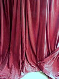 Plum Velvet Curtains Vintage Lined Pink Velvet Curtains In Newcastle Tyne And Wear