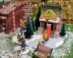 idee village de noel st nicholas u0027s tree lot lemax christmas village accessory 2014