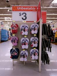 Usa Flag For Sale File Printed Flip Flops For Sale At Walmart Jpg Wikimedia Commons