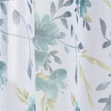 better homes and gardens watercolor mums sheer panel