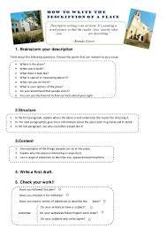 descriptive essay about a place sample how to write the description of a place