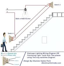 joining two electrical wires two way light switch diagram
