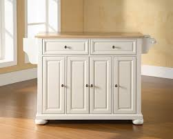 white portable kitchen island in white portable kitchen island