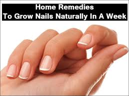 home remedies to grow nails naturally in a week boldsky com