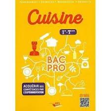 livre technique cuisine professionnel technologie culinaire hôtellerie restauration enseignement
