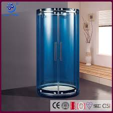sliding shower door with curved glass sliding shower door with