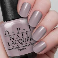 taupe less beach nail lacquer opi