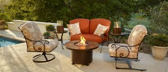 Alumont Patio Furniture by Ow Lee Luxurious Outdoor Casual Furniture And Fire Pits