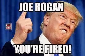 Joe Rogan Meme - the ufc may be firing joe rogan