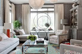 console tables living room contemporary with window treatments
