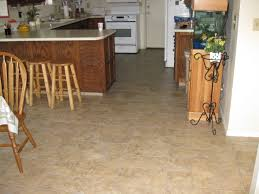 Ideas For Kitchen Floor by Gray And Brown Square Patterned Vinyl Floors Kitchen Flooringvinyl
