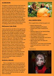 Halloween Cake Walk by Gamekids Halloween 2015 Simplebooklet Com