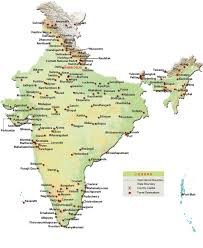 Map Of Eastern States by Avn Travels U0026 Exhibitions Tour Package For Maps Of India
