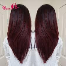 7a grade ombre brazilian hair bundles two tone ombre human hair