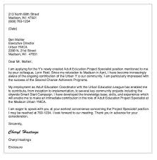 special ed cover letter education cover letter sample