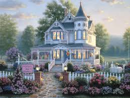 3 Story Homes 747 Best Thomas Kinkade Images On Pinterest Thomas Kinkade