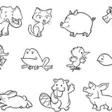 free coloring pages animals baby animal coloring pages free