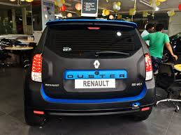 renault india renault duster shows off customisation potential