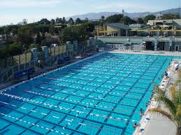 outdoor lap pool santa monica community aquatics