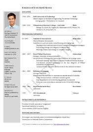 Graduate Mechanical Engineer Resume Sample by Resume Resume Structure Resume Templates Indesign Great