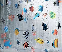 Amazing Deal On Periodic Table Shower Curtain Kids Children Extra Long Shower Curtain Tropical Fish Shower Curtains