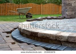 paver patio stock images royalty free images u0026 vectors shutterstock