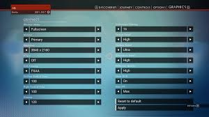 pubg 4k settings no man s sky pc graphics settings unveiled 4k screenshots on