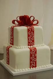 christmas cake fondant holly marzipan snow people baked goods