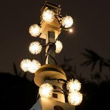 String Ball Lights by Solar Globe String Light Magicfly 26 9ft 50 Led Fairy Ball String