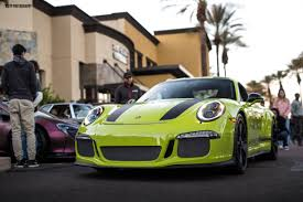 green porsche 911r in pts birch green porsche
