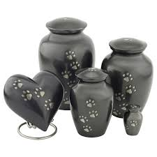 dog urns classic slate paw print pet cremation urn medium pet urns for ashes