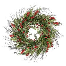 decorated artificial wreaths santa s quarters