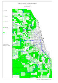 Chicago City Map by Chicago 1990 Census Maps