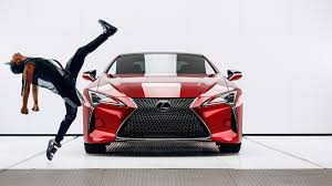 lexus lc spied lexus previews its super bowl commercial