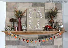 15 fall mantel decorating ideas two purple couches