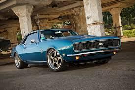 blue 68 camaro thompson s nicely redone 1968 track ready chevrolet camaro