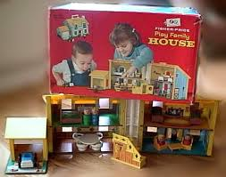 Fisher Price Little People Barn Set 952 Play Family House
