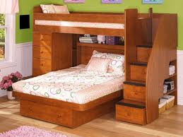 Bunk Beds With Queen On Bottom Bunk Beds That Separate Into - Queen sized bunk bed