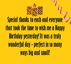 birthday thank you sentiments amazing grateful and birthdays