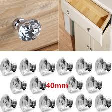 kitchen cupboard door knob handle 8pcs 10pcs 16pcs 40mm cupboard door knobs and handles kitchen cupboard knobs cabinet wardrobe drawer pull handle