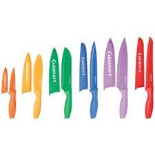 colored kitchen knives cuisinart advantage 12 color knife set reviews wayfair