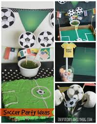 soccer party ideas summer bash soccer party