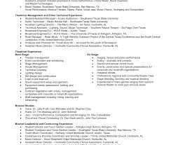 theater resume template resume template template performance resume template sle