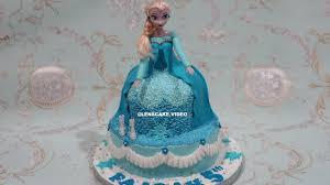 birthday cake frozen barbie doll