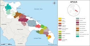 Map Of Southern Italy by Italy Map Of Vineyards Wine Regions