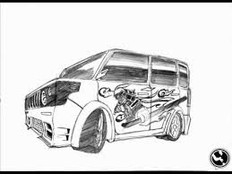 tutorial how to draw a simple car with pencil wmv youtube